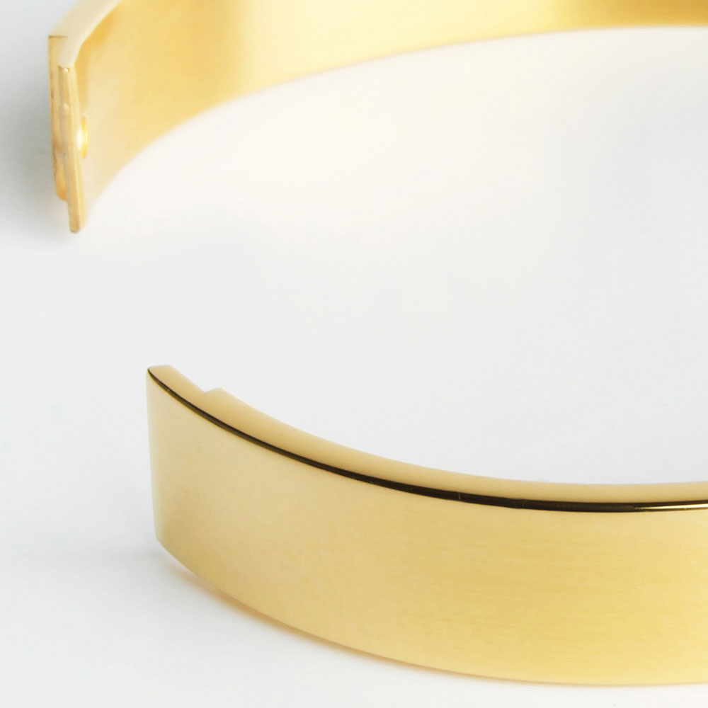 alexascha armreif gold verschluss