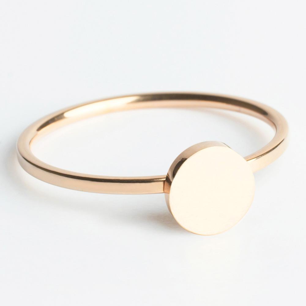 alexascha edelstahl ring rosegold 2