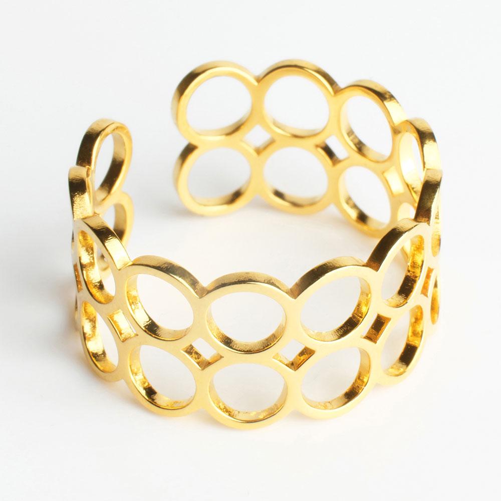 alexascha offener ring gold