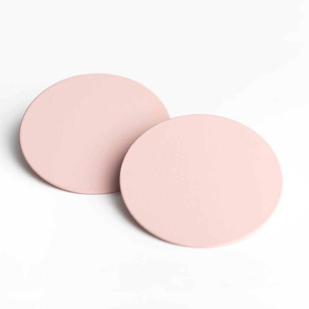 alexascha runde statement ohrstecker rosa