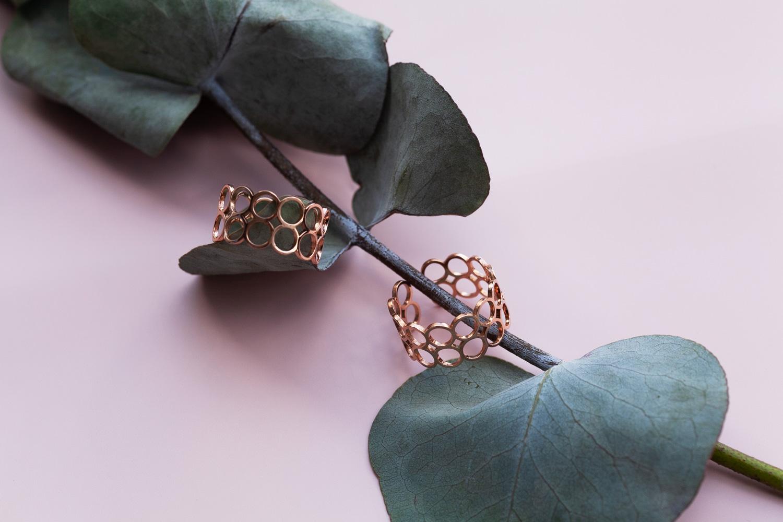 alexascha ringe rosegold edelstahl schmuck nachhaltigkeit