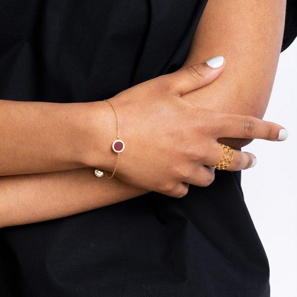 alexascha-fingerring-armband-rot-gold